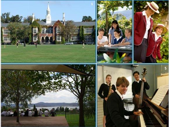 Collèges et Lycées en Australie et Nouvelle Zelande